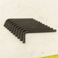 """7/32  Short Arm 3"""" Hex Key Allen Wrench Loose Lot Of 10"""