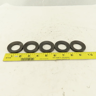 """2"""" Bevel Washer 1-1/8"""" ID 9/32"""" Thick Lot Of 5"""