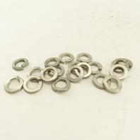 "1/2"" Stainless Steel Split Spring Lock Washer Lot Of 20"