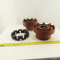 Nor-Mex PIV 168 Elastomer Jaw Coupling 42mm x 60mm Bore