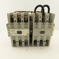 Cutler Hammer CE55MN3 Size M 600V 45kW MAX Reversing Magnetic Contactor 3Ph 105A