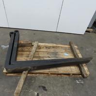 "72"" Full Taper Rod Pin Mount Forklift Forks Inline Eye 30,000 lb Cap 1 set of 2"