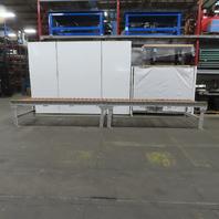 "Power Roller Case Pallet Conveyor 48""BF x 240""L x 32"" H  No Motor or Gear Box"