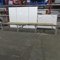 "Power Roller Case Pallet Conveyor 60""BF x 240""L x 35"" H  No Motor or Gear Box"