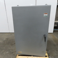 "SEC 56""x36""x24"" Wall Mount Electrical Enclosure JIC W/Back Plate"