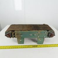 "8"" Belt x 26"" OAL Slide Bed Conveyor Section Chain Driven"