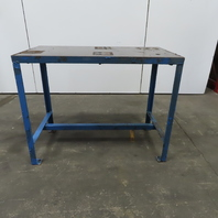 """1-1/2"""" Thick Top Steel Machine Base Welding Table Work Bench 49""""x25""""x38-1/2""""H"""