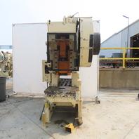 "Minster No.6 Mechanical 60 Ton OBI Punch Press 3-1/2"" Stroke 11"" Throat"