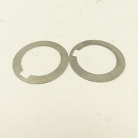 """1-1/2"""" Keyed Shaft Spacer Backup Washer For 3/8"""" Key 0.0250 Thick Lot Of 2"""