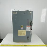 "Square D LAF3640036MV1027 Disconnect Enclosure W/400A Breaker 33""x20""x14"""
