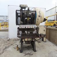 "Federal PR0092 Mechanical 60 Ton OBI Punch Press 3"" Stroke 10"" Throat"