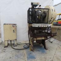 "Federal PR0091 Mechanical 60 Ton OBI Punch Press 3"" Stroke 11-1/2"" Throat"