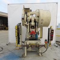 "L & J Mechanical 60 Ton OBI Punch Press 4"" Stroke 10"" Throat 230V 3Ph"