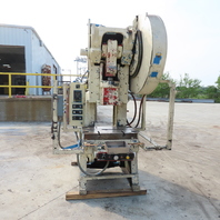 "Minster No. 6 Mechanical 60Ton OBI Punch Press 5"" Stroke 11-1/2"" Throat 230/460V"