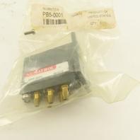 Numatrol PB5-0001 4 Way Push Button Pneumatic Valve Body