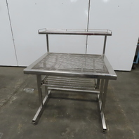 Terra Universal 9601-18 Ultra Clean Rod Top Stainless Steel Bench Workstation