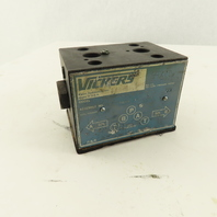 Vickers DG4V4-012A-M-WL-B5-10 4500PSI Hydraulic Valve Block