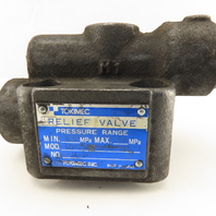 Tokimec CG-03-CVY-15-S81-JA-J Hydraulic Pressure Relief Valve