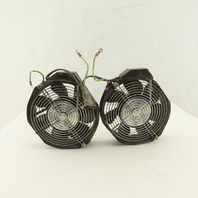 NMB 5915PC-20W-B20 Cooling Fan 200-240V Wired Together Lot Of 2