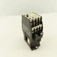 Siemens 3TF4011-0B 600V 20A 3Ph 7.5Hp MAX Magnetic Motor Starter 24VDC Coil