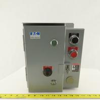 Eaton Cuttler Hammer ECN0502BAA Motor Starter Nonreversing 240V 3P 18A Size 0