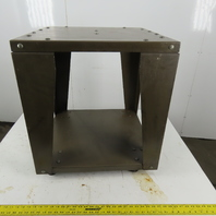 """24"""" x 24"""" x 27-1/4"""" Granite Surface Plate Equipment Stand W/Casters"""