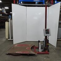 Nitech 3/4Hp 115V 1Ph Low Profile Pallet Turntable Stretch Shrink Wrap Machine  Single Phase
