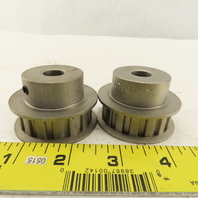 """Martin 16L050 Timing Belt Pulley 1/2"""" Width 16 Tooth 1/2"""" Bore Lot Of 2"""