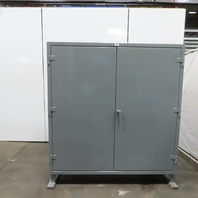 """Strong Hold 66-PB-244G 4 Shelf Industrial Tool Parts Storage Cabinet 72x24x78"""""""