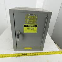 Justrite 25040 4 Gallon Capacity Flammable Liquid Storage Cabinet