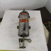 US Petrolon Industrial Stainless Steel Air Compressor Oil Filtration Vessel 6Gal