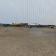 Spanco 1/2 Ton Ceiling Mounted Bridge Crane 15' Span x 28' Run W/Push Trolley