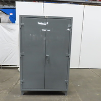 """Strong Hold 46-244G 4 Shelf Industrial Tool Parts Storage Cabinet 48x24x78"""""""