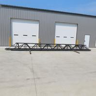 "Vulcraft K-Series 26"" Tall Steel Roof Joist (4) 32'6"" (2) 29'11"" Lot of 6 Total"