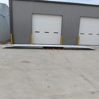 """20 Gauge 39"""" Wide Galvanized Steel Roof/Mezzanine Decking 125' Total length"""