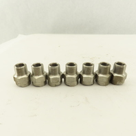 Bex 3/8 ZBD 3/8NPT Quick Disconnect Sprayer Nozzle Body Stainless Steel Lot Of 7