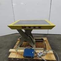 """Southworth LS2-24 2000lb Hyd Scissor Lift Table 42x36"""" Top 7-31"""" Ht 208-230/460V"""