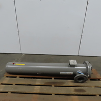 """Bell & Gossett 5-260-08-060-001 Shell Tube Heat Exchanger 8"""" x 60"""" Shell ONLY"""