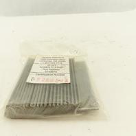 "Wheelabrator 0742670 Shot Peening Almen ""C"" Strip Certified Pack Of 25"