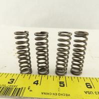 "3/8"" ID x 9/16 OD Compression Spring Round Wire 0.07852"" OD Lot Of 4"
