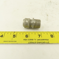 """Pyle DB Form 1 1/2"""" Aluminum Circular Cable Gland Strain Relief .187-.250"""