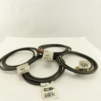 "Gates 3VX670 Super HC 3V Section Cogged Drive Belt 67"" Lot Of 4"
