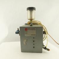 Amcol 6000B Adjustable Flow Pneumatic Piston Mist Cutting Fluid Saw Metal Cut