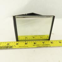 "Leuze US 2 F265 3-3/4"" x 3"" Safety Beam Deflecting Mirror"