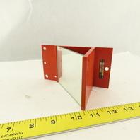 "Leuze US 2 4"" x 3-1/8"" Column Mount Safety Beam Deflecting Mirror"