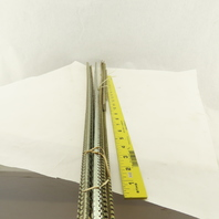 """Allen Bradley 1492-N1 Breakaway Electrical DIN Rail 22.4mm 36"""" Lot Of 6 + Extras"""