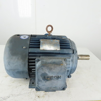 Leeson 150066.60 15Hp Electric Motor 1750RPM 208-230/460V 3Ph 254TC Frame