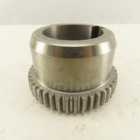 """Lovejoy C1.5 HUB1-5/8 Steel Grid Rigid Coupling Hub 1-5/8"""" Bore"""