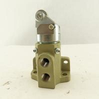 Ross 1133A2001 3/2 Roller Cam Valve Assembly Pneumatic