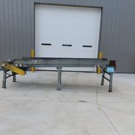 """139"""" Slider Bed Belt Conveyor 18"""" Bed 15 FPM 208-230/460"""